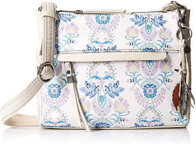 THE SAK - Leather Alameda Crossbody (Stone Flowing Floral)