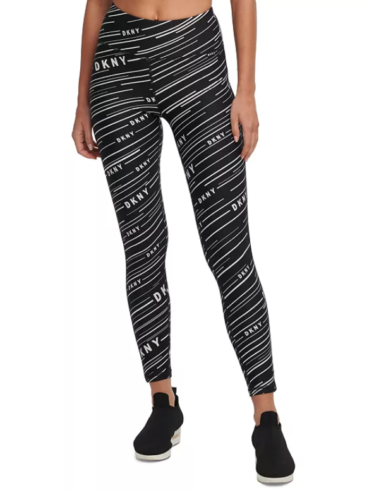 DKNY - Printed High-Waist Leggings (XL)