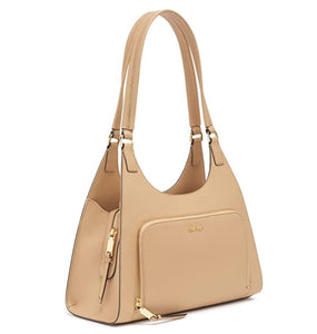 Calvin Klein - Ava Hobo Leather Shoulder Bag