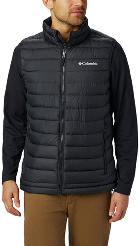 COLUMBIA - Men's Powder Lite Vest, Black (Size S)
