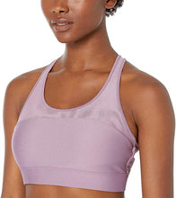 Load image into Gallery viewer, UNDER ARMOUR - Women's Armour Mesh Sports Bra, Purple Prime (M)