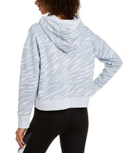 Load image into Gallery viewer, Calvin Klein Performance - Zebra-Print Logo Hoodie, Blue
