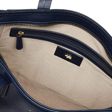 Load image into Gallery viewer, RADLEY LONDON - Haven Street Patchwork Leather Medium Zip Top Tote (Dark Blue)
