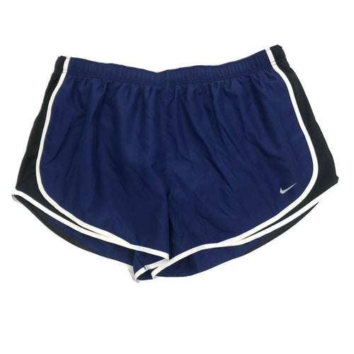 NIKE - Plus Size Women's Tempo Running Shorts, Navy (1X,3X)