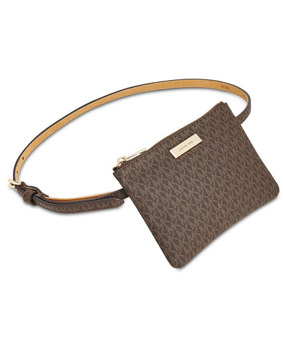 MICHAEL KORS - Signature Fanny Pack, Brown (XL)