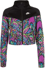 Load image into Gallery viewer, NIKE - Sportswear Women's Printed Jacket, Black (M)