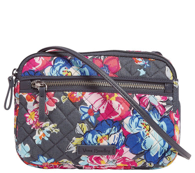 VERA BRADLEY - Iconic RFID All In One Crossbody Bag (Pretty Posies)