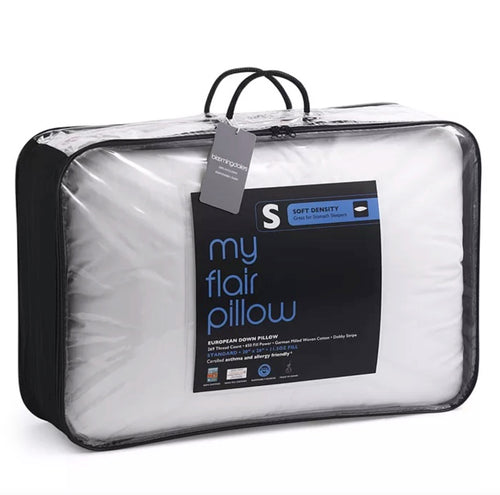 "MY FLAIR PILLOW - Asthma & Allergy Friendly Down Pillow (Standard Pillow 20"" X 26"")"