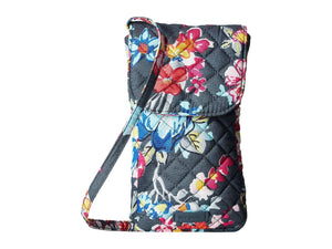 VERA BRADLEY - Carson Cellphone Crossbody Bag (Pretty Posies)