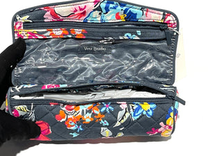 VERA BRADLEY - Iconic On A Roll Case (Pretty Poises)