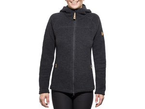 FJALLRAVEN - Women's Kaitum Fleece Wool Hoody (XXS)