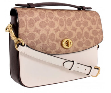 COACH - Cassie Genuine Leather Crossbody Bag