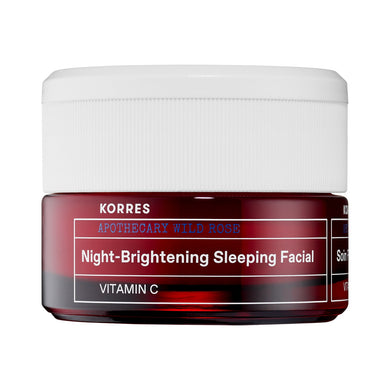 KORRES - Vitamin C Brightening Sleeping Facial, Wild Rose (1.35 Fl Oz)