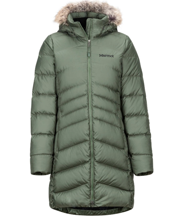 MARMOT - Women's Montreal Down Coat, Crocodile(XL)