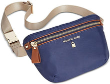 Load image into Gallery viewer, MICHAEL KORS - Nylon Fanny Pack, Navy/Gold (O/S)