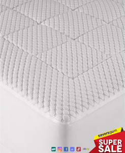 Martha Stewart - Dream Science Washable Memory Foam Mattress Pad, Cal King