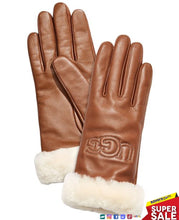 Load image into Gallery viewer, UGG Womens Classic Leather Logo Glove