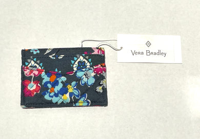 VERA BRADLEY - Iconic Slim And Case Cotton (Pretty Posies)