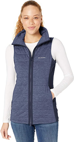 COLUMBIA - Women's Place To Place Vest, Dark Noctornal (Small)