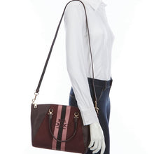 Load image into Gallery viewer, COACH - Prairie Satchel With Horse And Carriage (Oxblood)