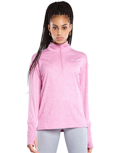 NIKE - Women's Element Plus Size Half Zip Sportswear, Pink (Size 3X)