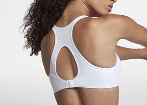 NIKE - Rival Women's Ultimate High Support Sports Bra, White (32D)