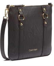 Load image into Gallery viewer, CALVIN KLEIN - Sonoma Bubble Lamb Crossbody Bag (Black)