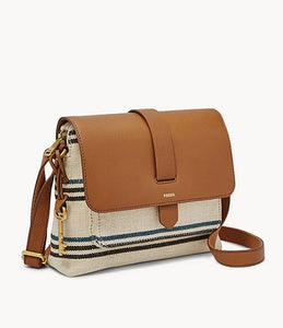 FOSSIL - Kinley Small Crossbody Bag (Natural)
