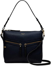 Load image into Gallery viewer, RADLEY LONDON - Womens Smith Street Leather Zip-Top Shoulder Bag (Dark Blue)