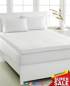 Dream Science by Martha Stewart Collection - Dream Science 3'' Memory Foam King Mattress Topper