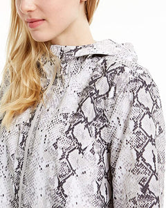 IDEOLOGY - Women's Snake Print Hooded Jacket (S,M,L,XL)