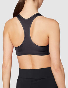 NIKE - Womens Futura Fitness Running Sports Bra, Black (XS)