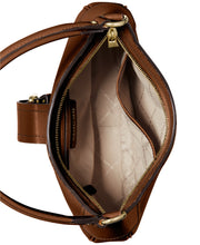 Load image into Gallery viewer, MICHAEL KORS - Lillian Genuine Leather Shoulder Bag (Brown/Acorn)