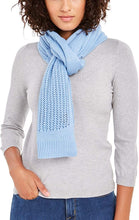 Load image into Gallery viewer, DKNY - Women's Open Knit Blocked Wrap Scarf, Multiple Colors Available (One Size)