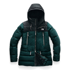 THE NORTH FACE - Women's Pallie Down Jacket, Ponderosa Green (S,M)