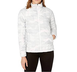 THE NORTH FACE - Women's Thermoball Eco Jacket, Camo White (M)