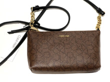Load image into Gallery viewer, CALVIN KLEIN - Hayden Saffiano Top Zip Chain Crossbody (Multiple Colors)
