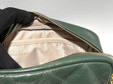 Load image into Gallery viewer, DKNY - Sofia Double-Chain Genuine Leather Shoulder Bag (Green)