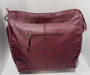 THE SAK - Silverlake Genuine Leather Hobo (Burgundy)