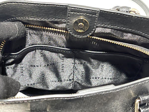 DKNY - Bobi Leather Satchel Medium Bag (Black)