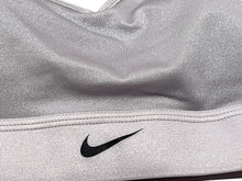 Load image into Gallery viewer, NIKE - Womens Dri Indy Dazzle Padded Strappy Sports Bra, Gray (L)