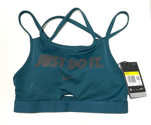 NIKE - Women's Swoosh JUST DO IT Sports Bra (S)