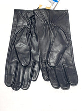 Load image into Gallery viewer, MICHAEL KORS - Women's Genuine Leather Tech Gloves, Black (XL)