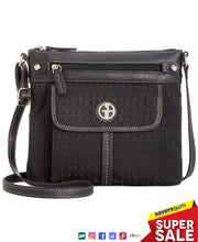 Load image into Gallery viewer, Giani Bernini - Annabelle Signature Crossbody, Black