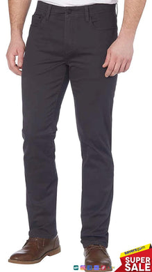 English Laundry Men's 5 Pocket Pant - Forged Iron (Texture 2)