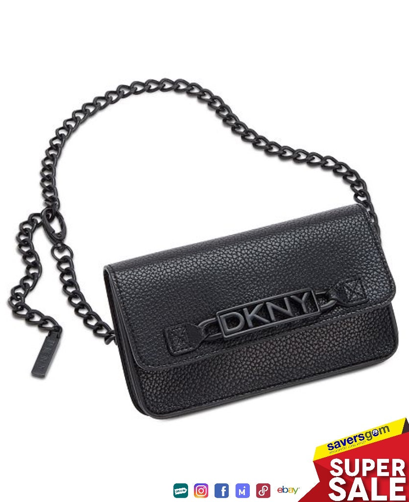 DKNY Women's Fanny Pack with Adjustable Chain