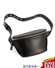 Load image into Gallery viewer, Calvin Klein Women's Leather Grommet Belt Bag