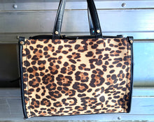 Load image into Gallery viewer, INC International Concepts - Remmey Leopard-Print Satchel, Leopard Print