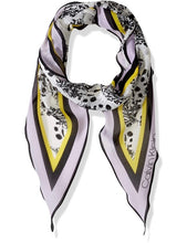 Load image into Gallery viewer, Calvin Klein Bouquet-Print Diamond Scarf