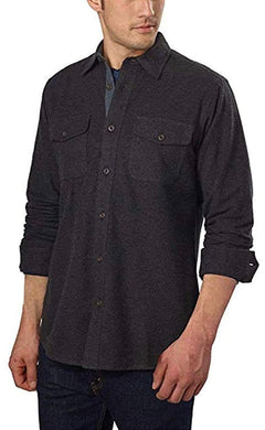 Grizzly Mountain Men's Flannel Chamois Shirt - Multiple Colors